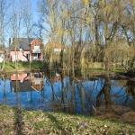 Kiezpuhl im Dorf