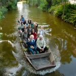 Bootsfahrt auf der Nieplitz während des Mueumsfestes