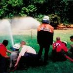 Feuerwehr übt